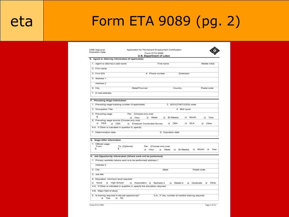 eta Form ETA 9089 (pg. 2)