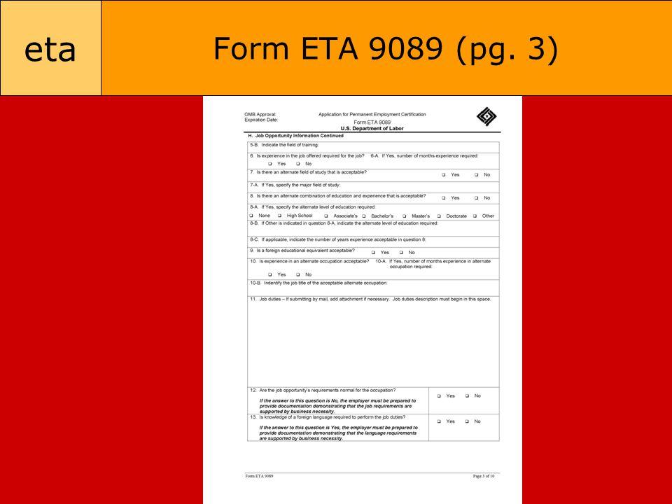 eta Form ETA 9089 (pg. 3)