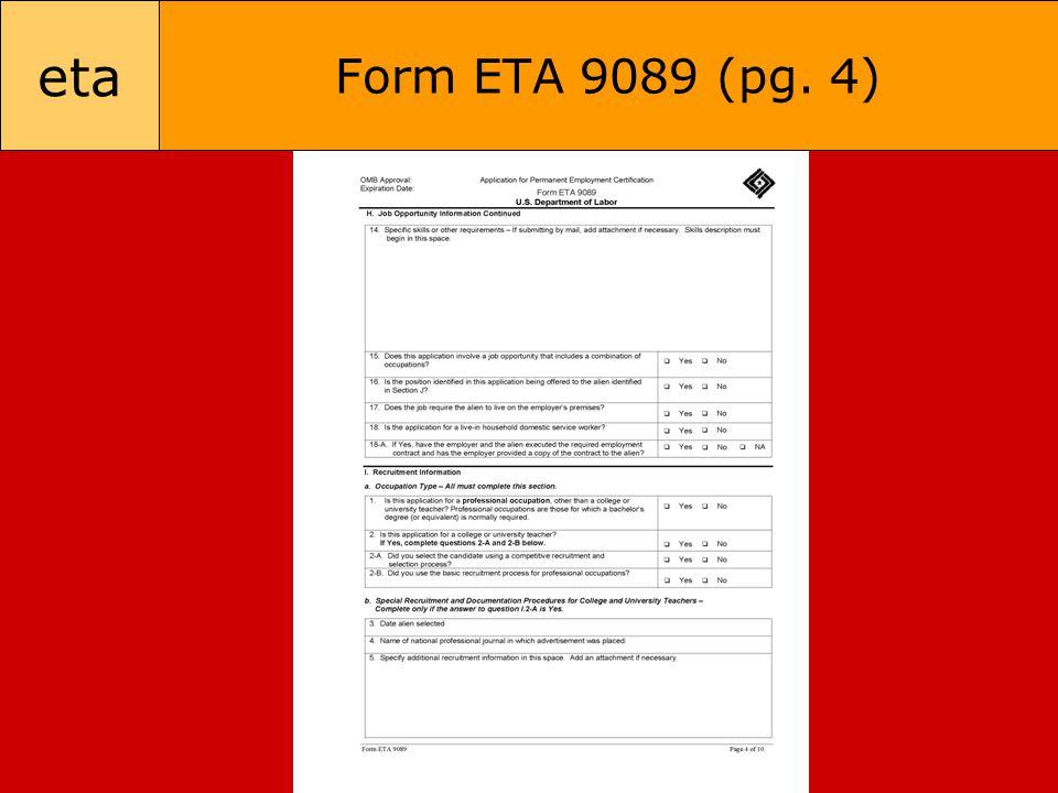 eta Form ETA 9089 (pg. 4)