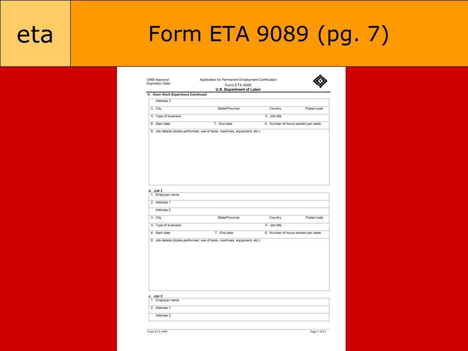 eta Form ETA 9089 (pg. 7)