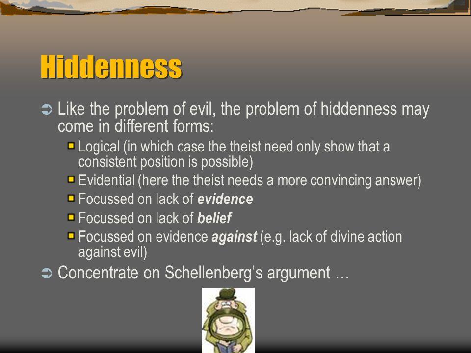 Problem of evil essay