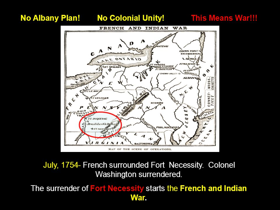 No Albany Plan. No Colonial Unity. This Means War!!.