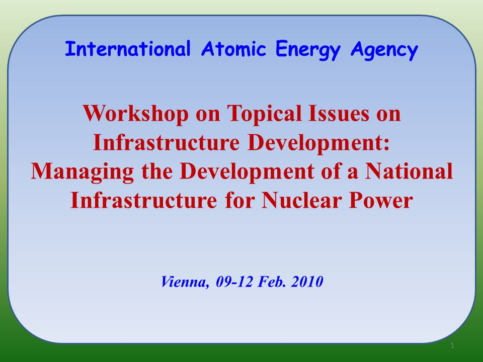 Le Thi Kim Dung Deputy Director, Division of Licensing Vietnam Agency for Radiation and Nuclear Safety (VARANS) An Overview on Building up National Infrastructure on the Way to Introduce Nuclear Power into Vietnam 2