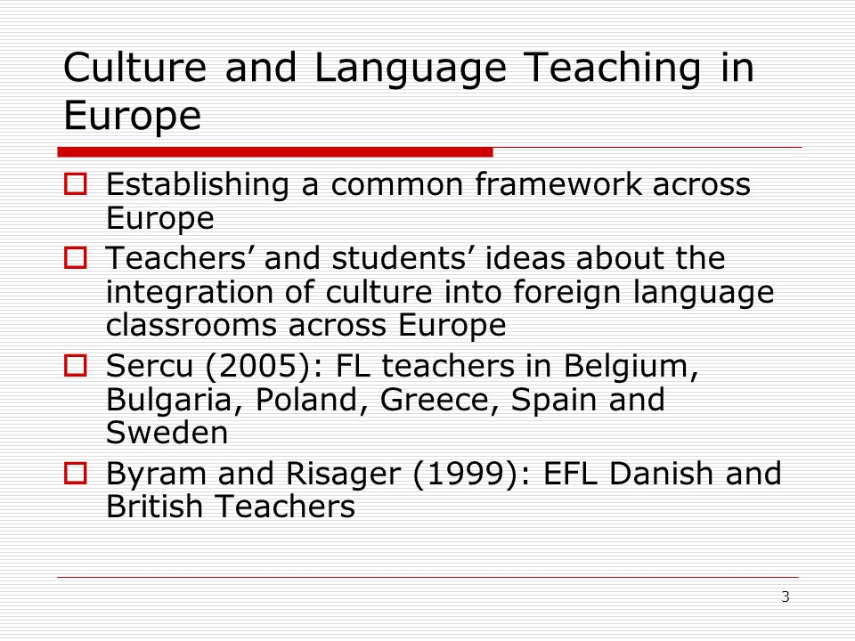 4 The Aim of the Study  To collect data about the ideas of people from different backgrounds on the use of culture in foreign language teaching in Turkey  To provide some insights for possible future implementations of more intense culture integration in foreign language contexts in Turkey