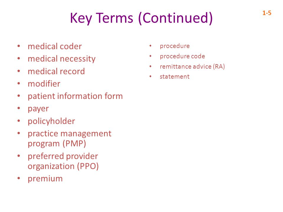 Step 7 in the Medical Billing Cycle: Prepare and Transmit Claims 1-16 Medical practices produce insurance claims to receive payment PMPs generate health care claims for electronic transmittal