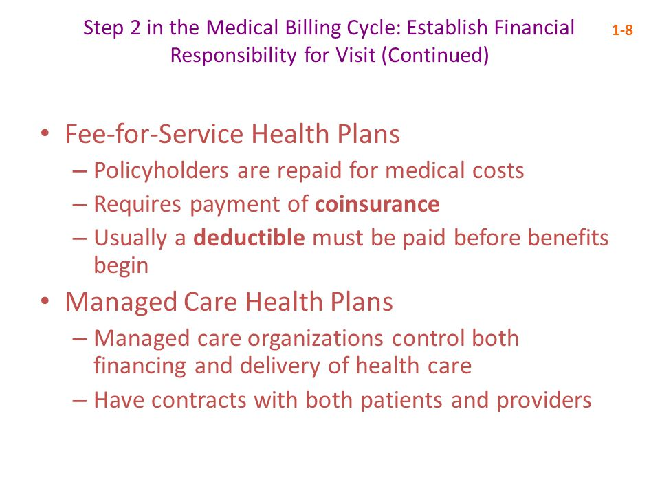 Step 10 in the Medical Billing Cycle: Follow Up Patient Payments and Handle Collections 1-19 The accounting cycle is the flow of financial transactions in a business PMPs are used to track accounts receivable (AR)—monies that are coming into the practice PMPs are also used to create day sheets, monthly reports, and outstanding balances reports