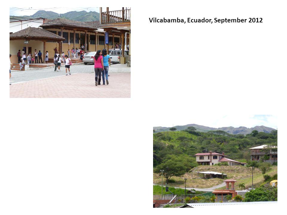 Vilcabamba, Ecuador, September 2012