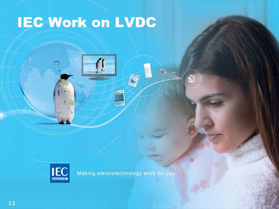 IEC Work on LVDC 13