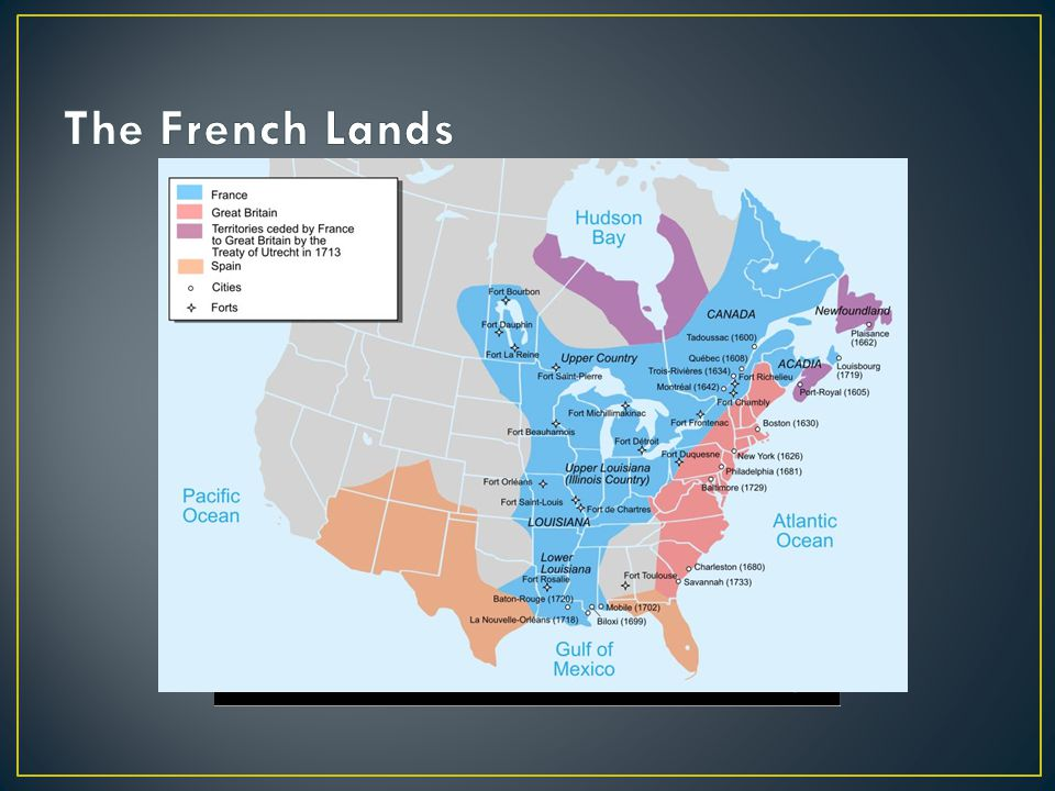 France doesn't trust the British and begins to construct forts in the Ohio Valley British are threatened and begin making their own forts The Iroquois ally with the British but try to stay out of it George Washington is sent to challenge French expansion