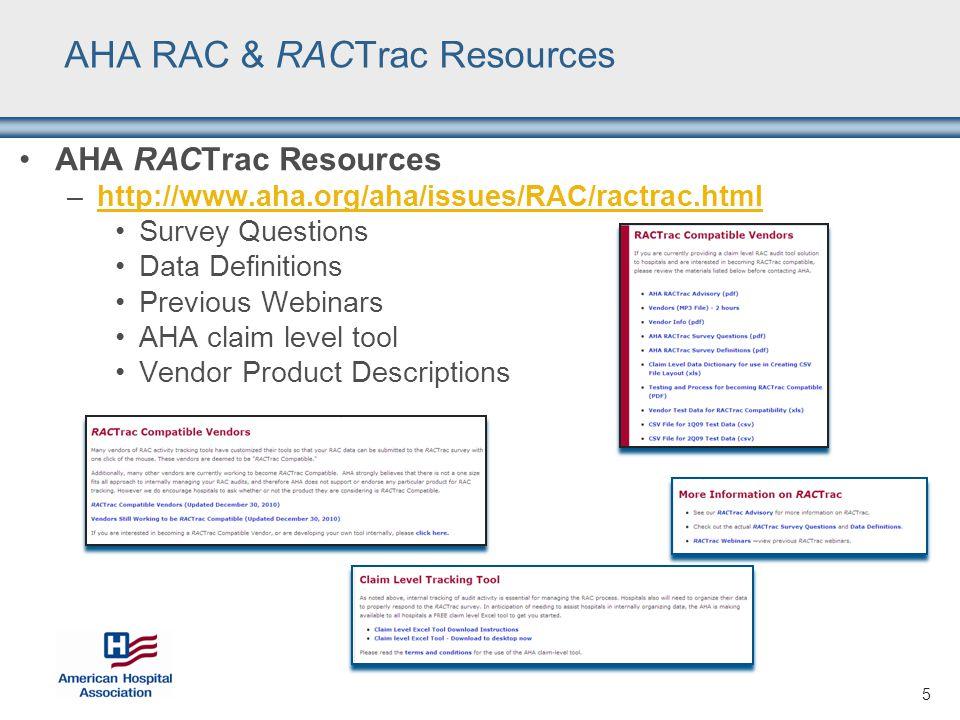 RACTrac Enhancements