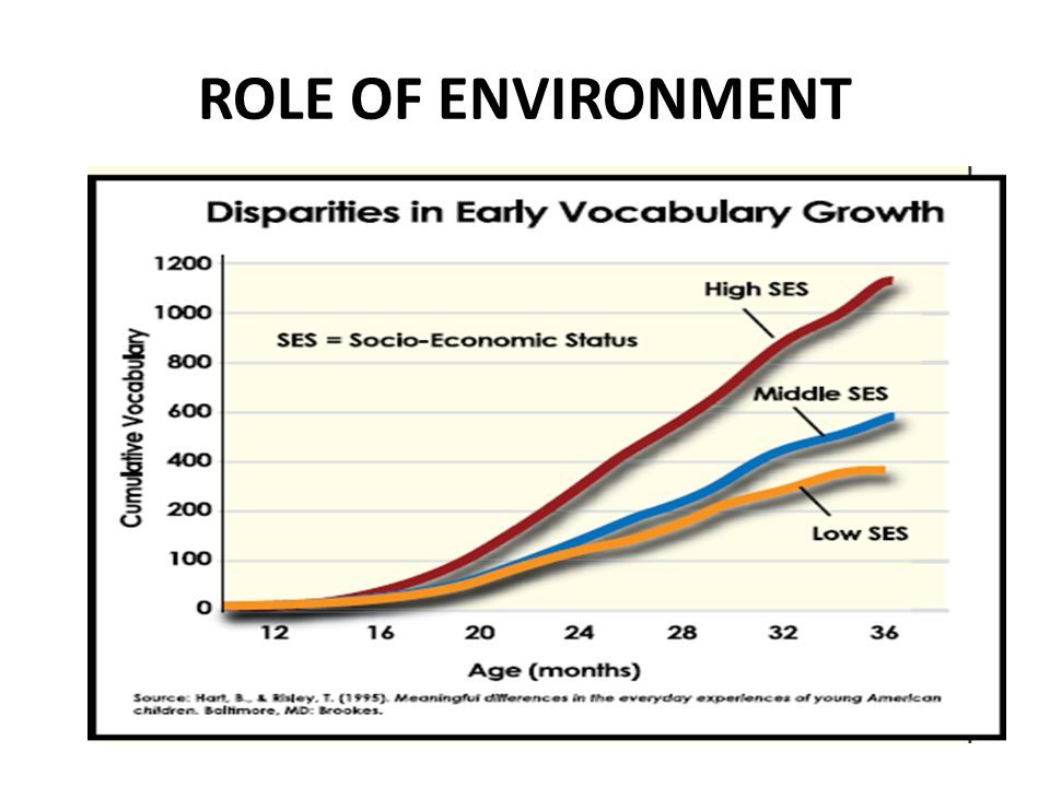 ROLE OF ENVIRONMENT
