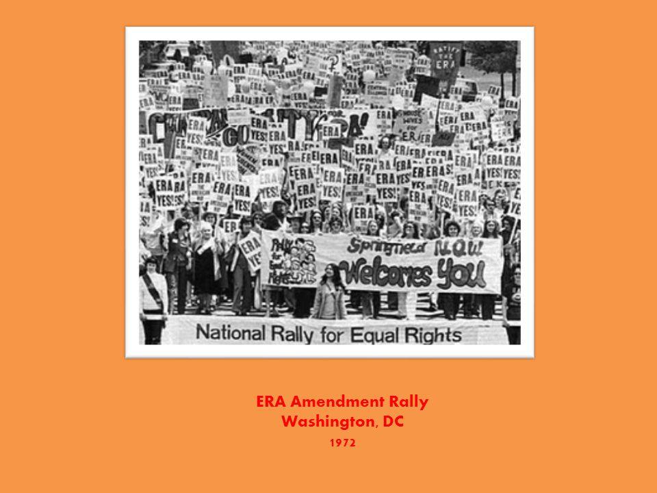ERA Amendment Rally Washington, DC 1972
