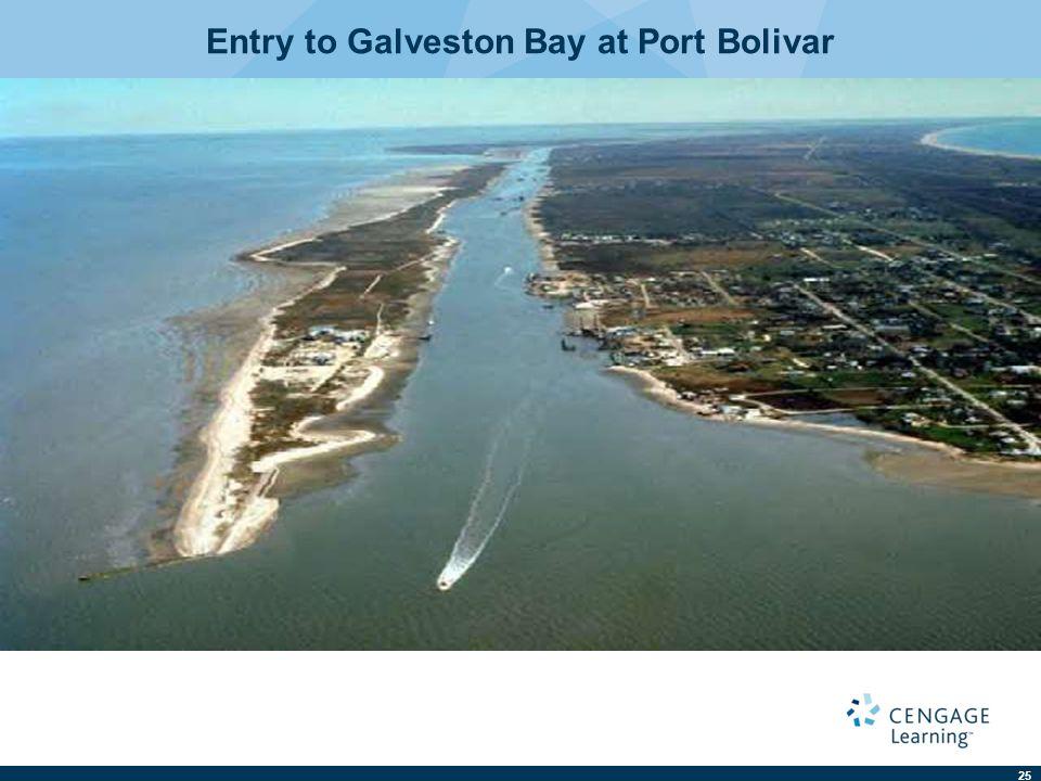25 Entry to Galveston Bay at Port Bolivar