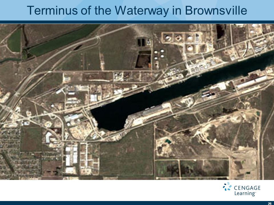 26 Terminus of the Waterway in Brownsville