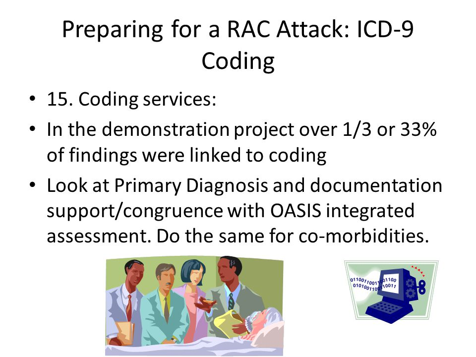 Preparing for a RAC Attack: ICD-9 Coding 15.
