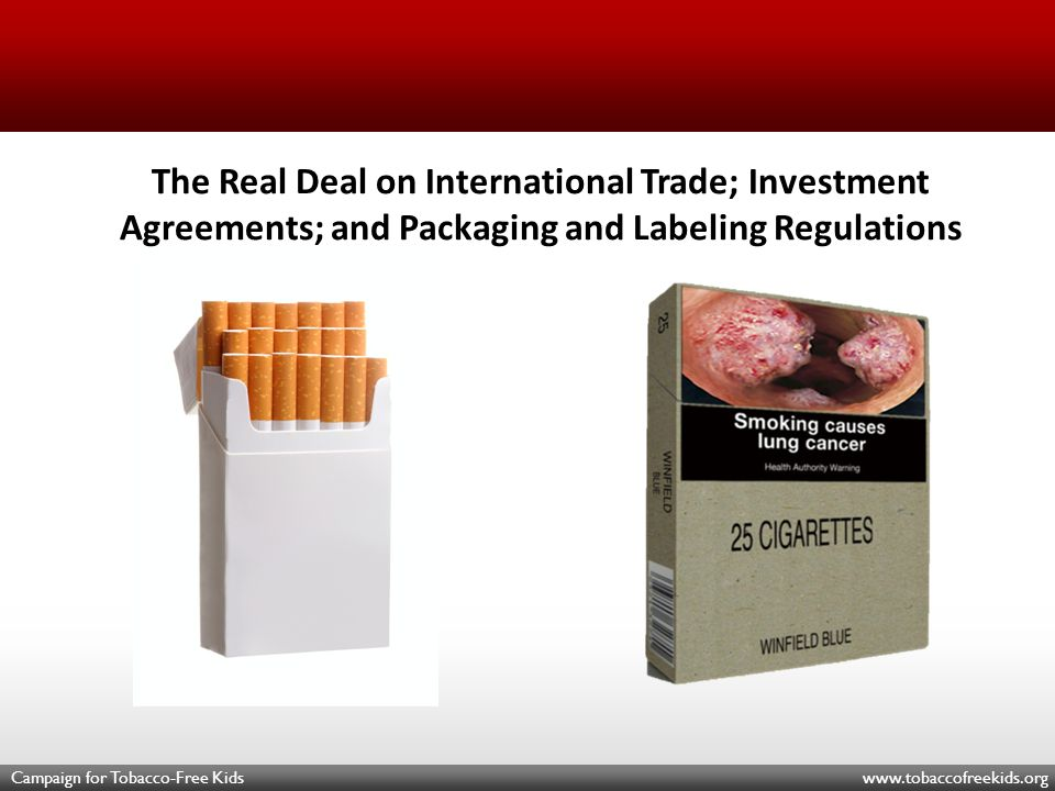 Protecting Against Expropriation Claims To minimize uncertainty governments can: –carve tobacco products or tobacco control measures out of an international investment agreement; and –clarify key concepts such as expropriation.
