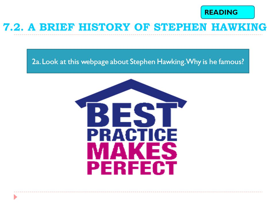 7.2.A BRIEF HISTORY OF STEPHEN HAWKING READING 2a.