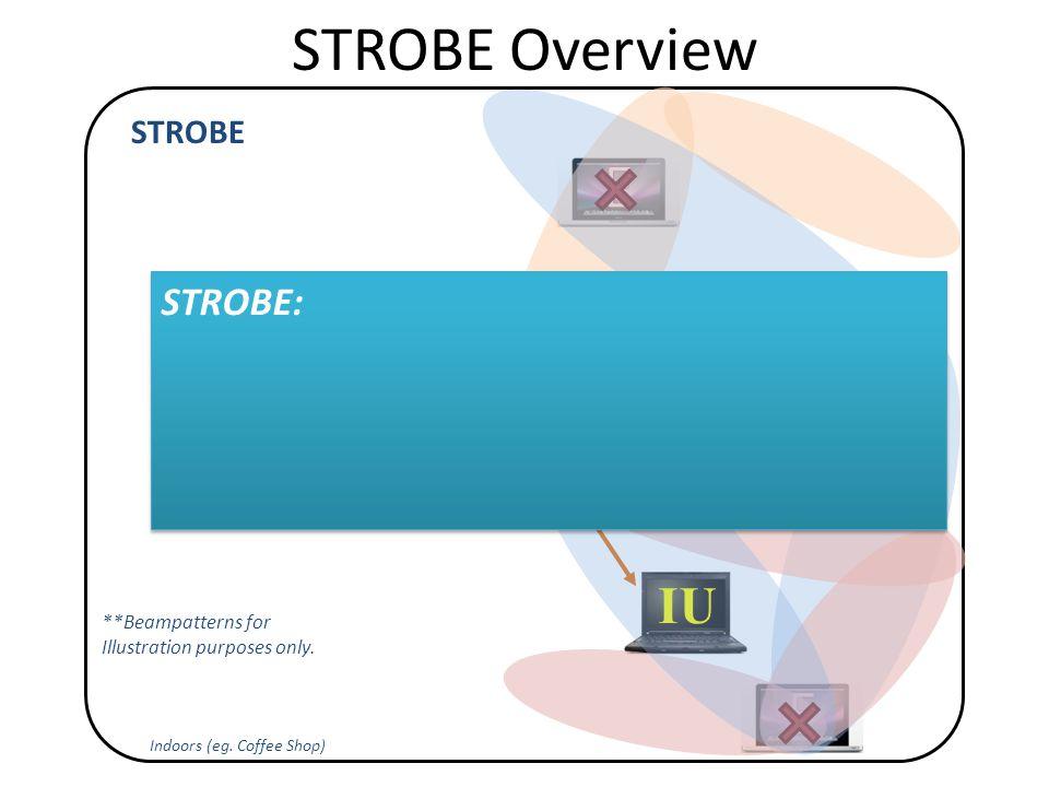 STROBE Overview Indoors (eg.