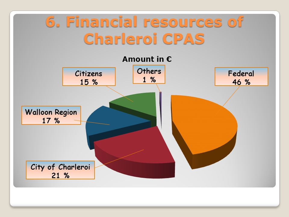 The different types of actions of CPAS A.Social help B.