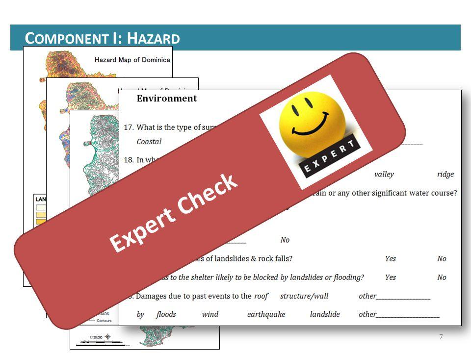 C OMPONENT I: H AZARD 7 Expert Check