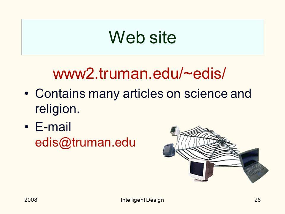 2008Intelligent Design27 Plug Taner Edis, Science and Nonbelief (Prometheus Books, 2008).