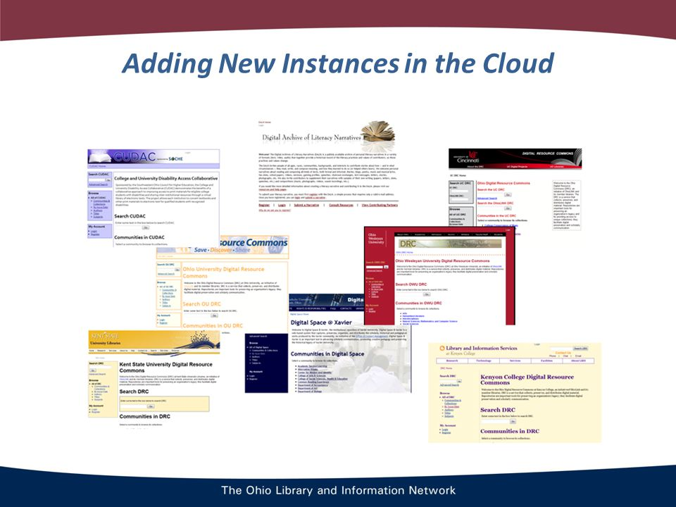 Adding New Instances in the Cloud