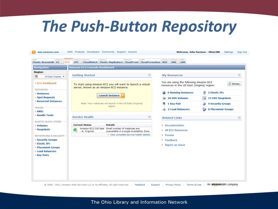 The Push-Button Repository