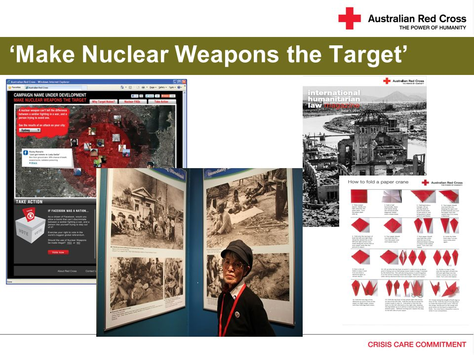 'Make Nuclear Weapons the Target'