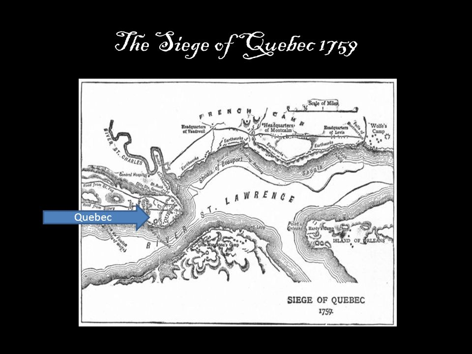 The Siege of Quebec 1759 Quebec