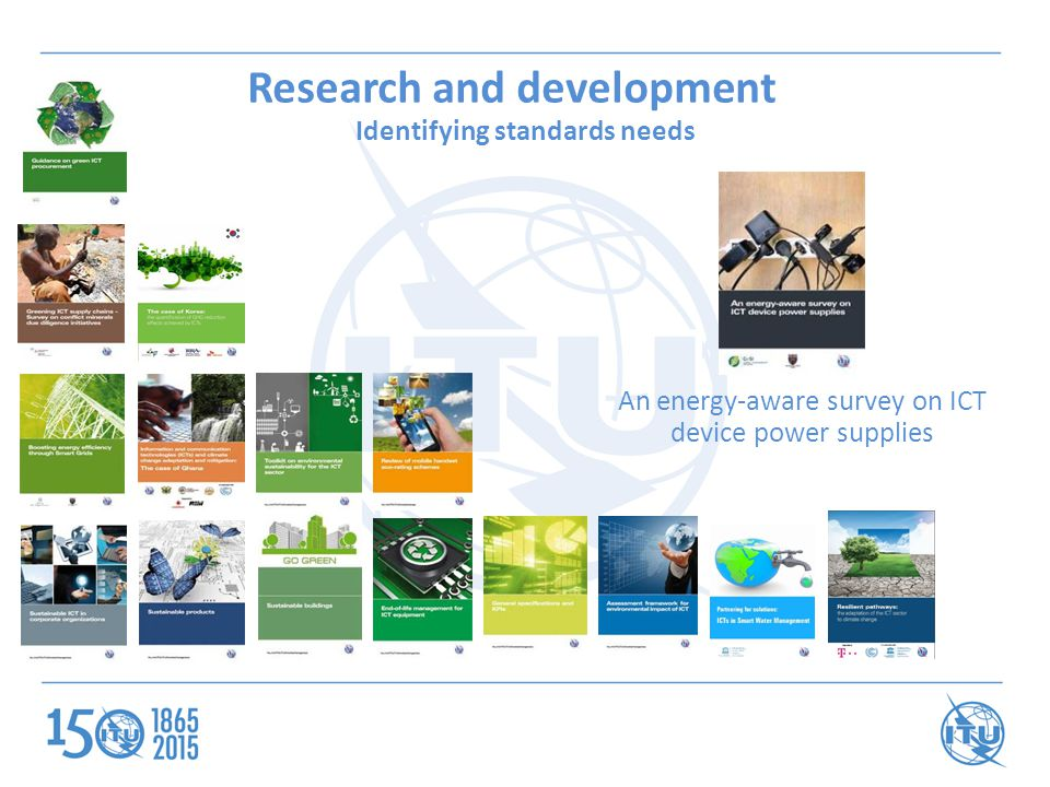 An energy-aware survey on ICT device power supplies Research and development Identifying standards needs