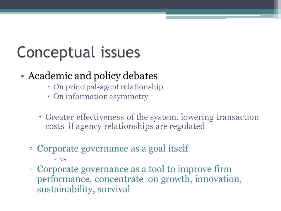 Good corporate governance Max SHV Constructing the framework Clear & credible principles Aligning shareholder interests  Based on ▫Independent boards – goal & strategic direction setting ▫Transparent financial reporting - accountability
