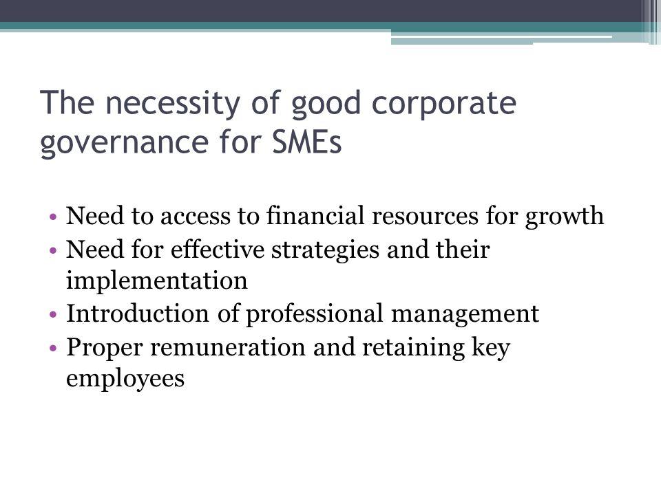 Key objectives of CG codes / principles Equal understandi ng of transparent management Improving information disclosure Increasing management quality Enhancing confidence of international investors