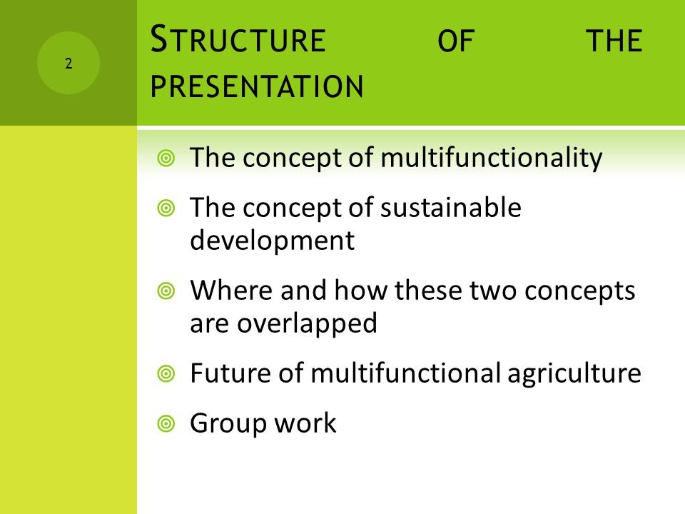 T HE NATURE OF JOINTNESS IN AGRICULTURE – N ON - ALLOCABLE INPUTS  Non allocable inputs = multiple outputs from the same input Eggs, poultry meat, feather Mutton, wool, milk Production of meat and manure Terraced paddy fields Alpine pastures with cows  These joint outputs are rarely produced in fixed proportions and those proportions can be modified by using different production methods  Many output linkages can be attributed either to technical or to non-allocable inputs (like food and landscape ) 13