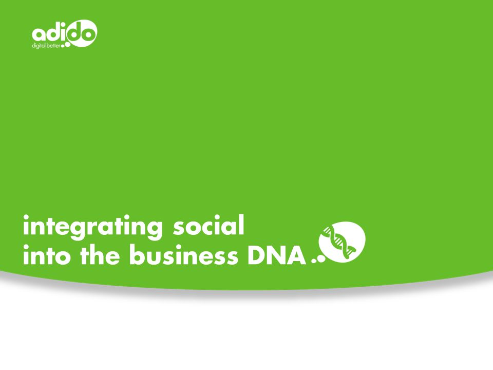 integrating social into the business DNA
