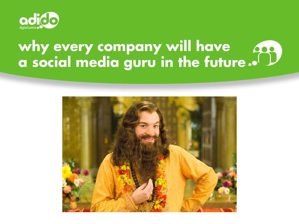 why every company will have a social media guru in the future