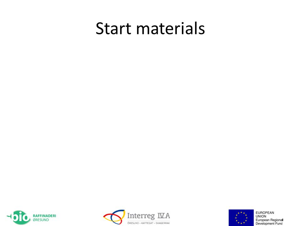 Start materials