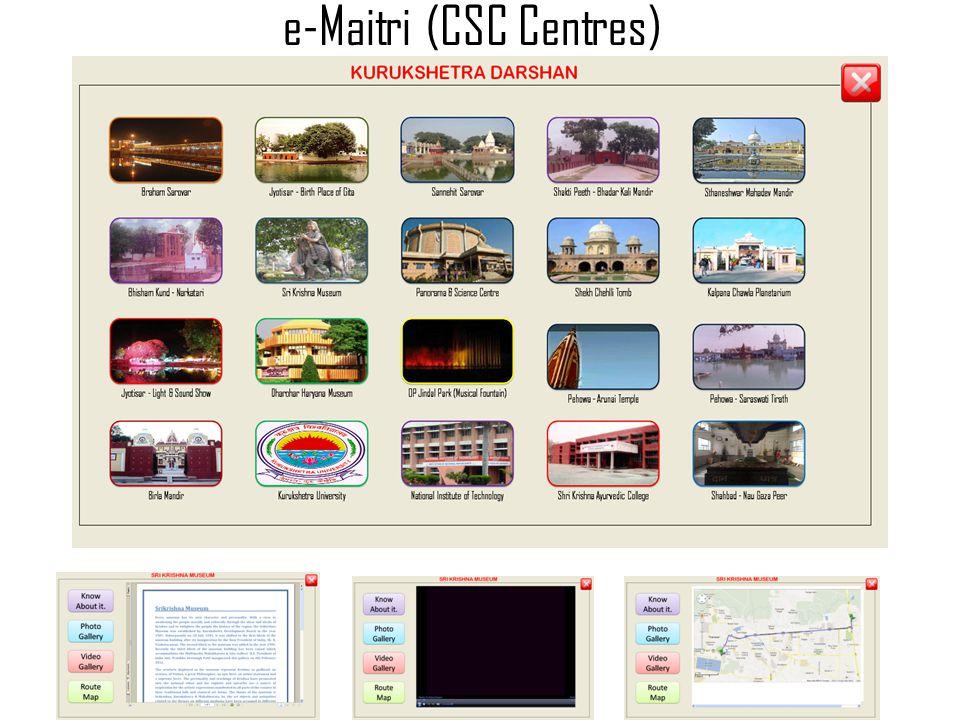 e-Maitri (CSC Centres)