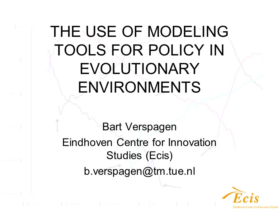 Policy lessons from the model It provides an exploration of the feasibility of the H-economy It provides a platform to evaluate the different effectiveness of aspects of policies (stimulating demand, stimulating technology, etc.), e.g., –What learning rate do we need to make fuel cells effective.