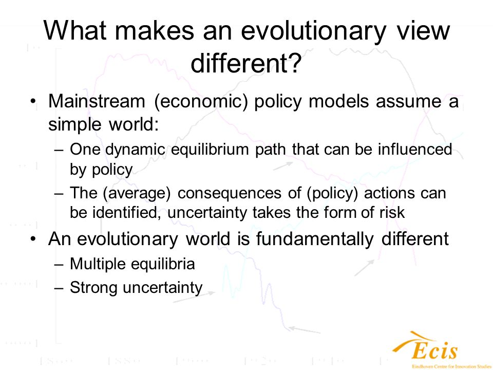 What are the relevant notions in evolutionary analysis.