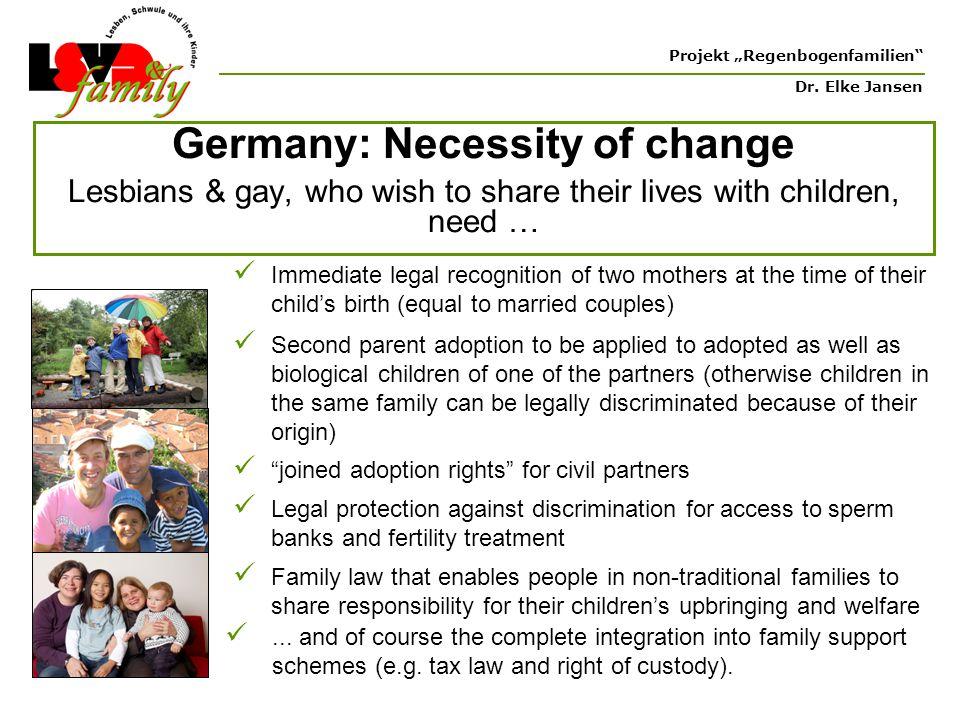 """Projekt """"Regenbogenfamilien Dr."""