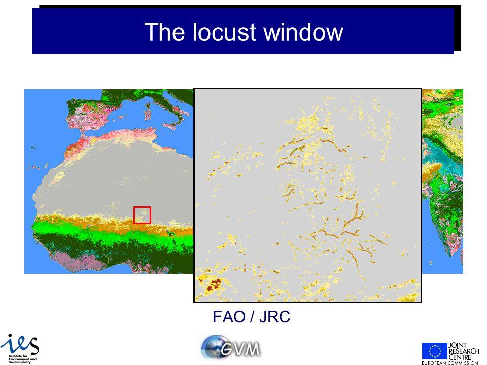 The locust window FAO / JRC