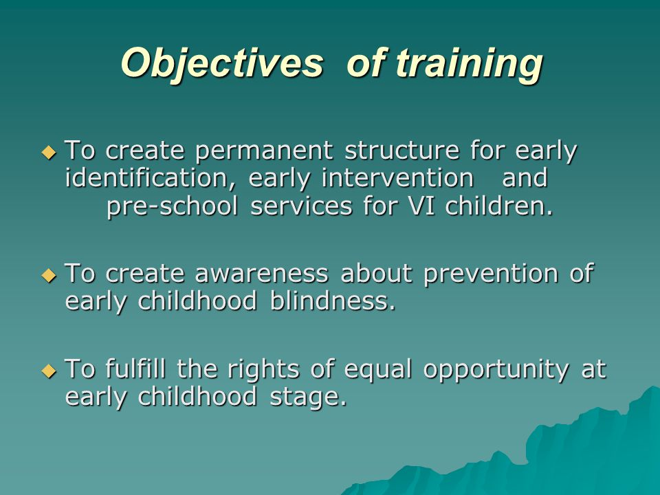 Methodology : Trainer resource  We implement Integrated Education programme with support of Govt.