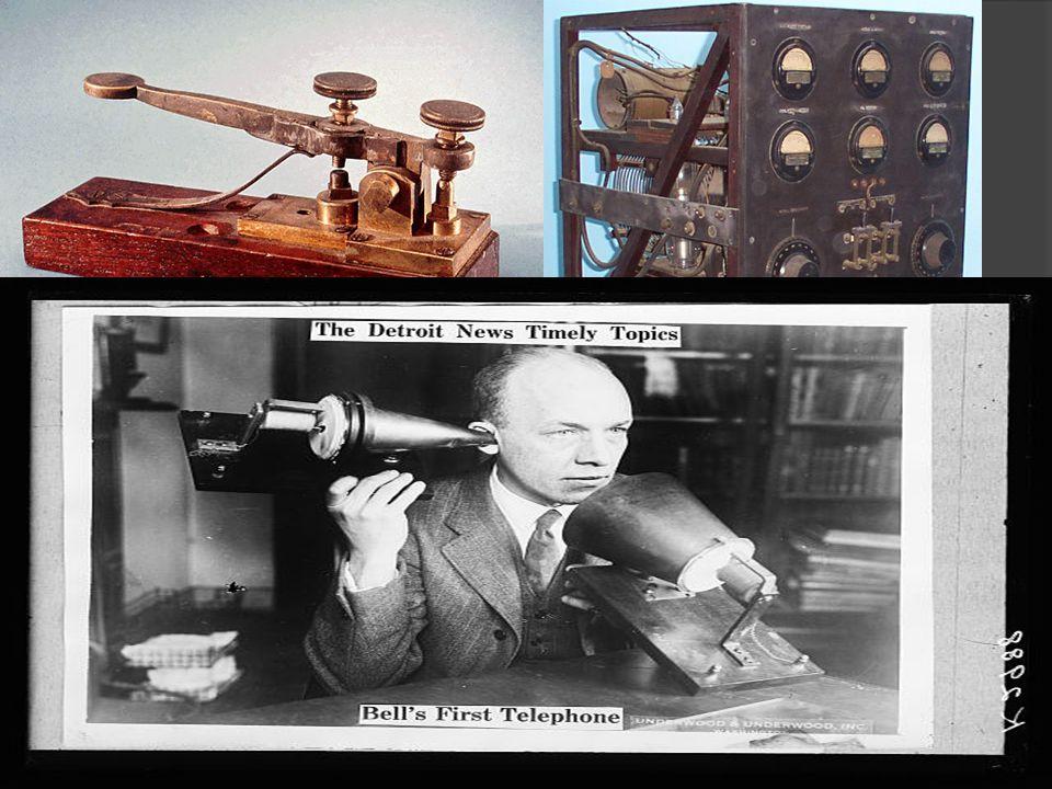 Communication Changes  Communication Improves!!! Telegraph Radio Telephone