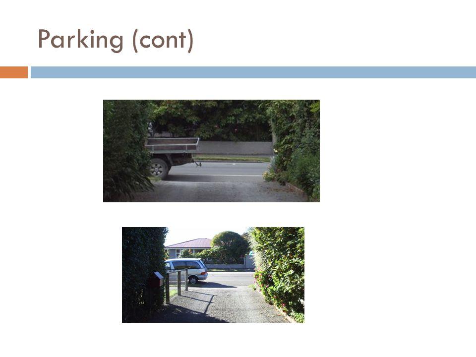 Parking (cont)