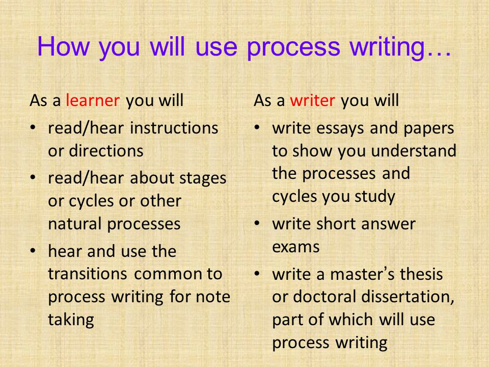 Why use passive voice.