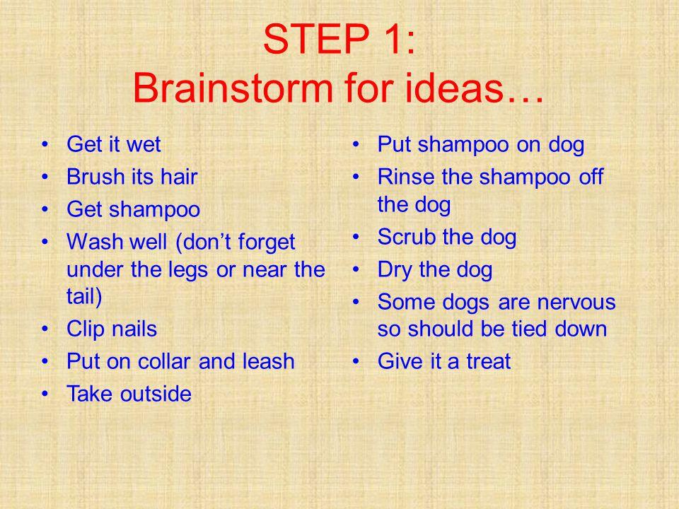 Wash a dog… 0.Before you begin, Buy dog shampoo at pet store 1.