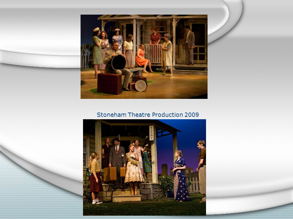 Stoneham Theatre Production 2009
