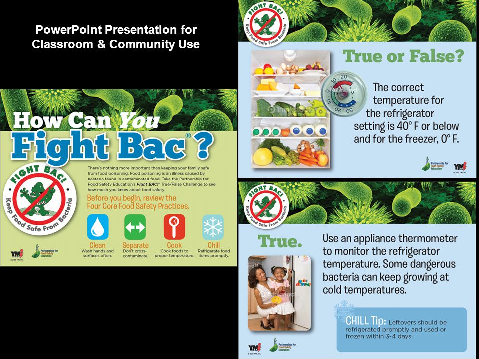 PowerPoint Presentation for Classroom & Community Use