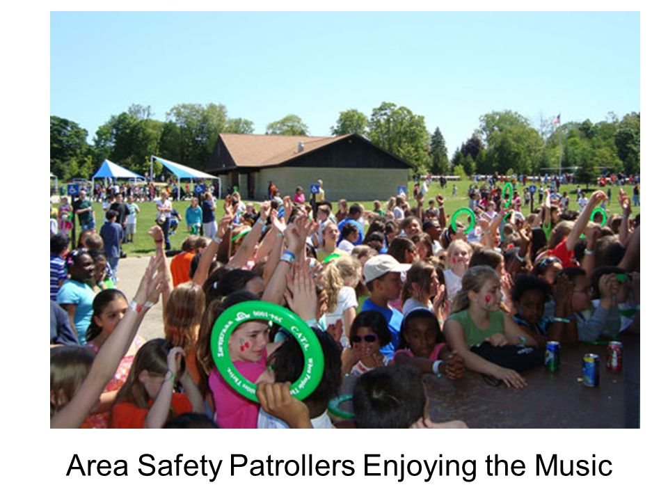 Area Safety Patrollers Enjoying the Music
