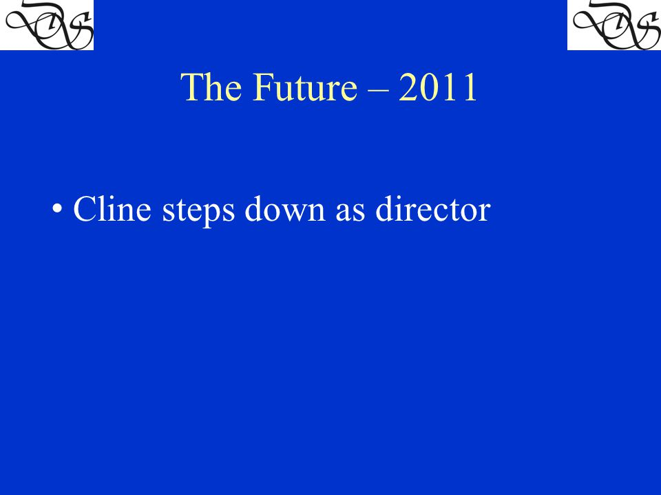 Cline steps down as director